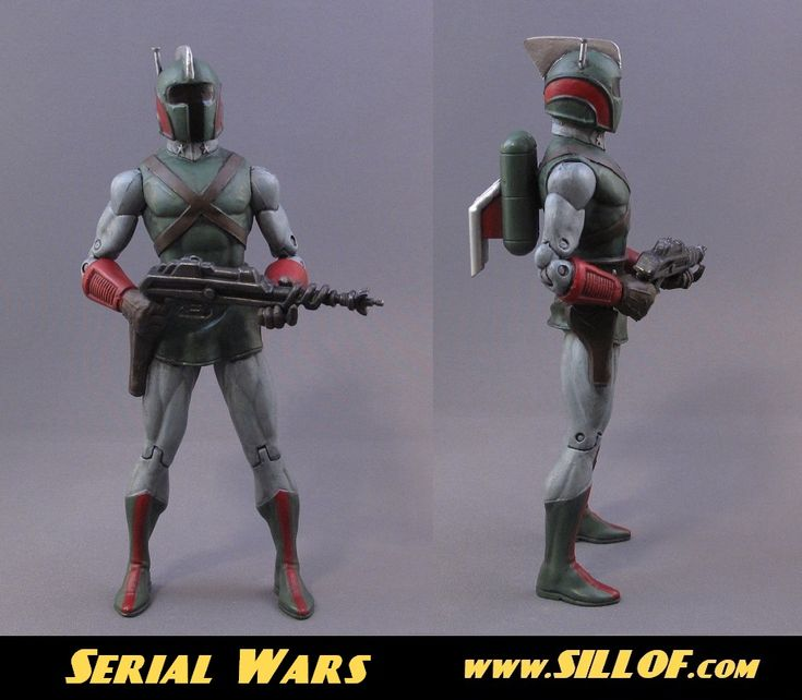 SILLOF's WORKSHOP: SERIAL WARS - a line in the style of retro sci-fi serials of the 1940's: 1940S Space, Custom Figures, Star Wars, Wars Figures, Starwars ❶ 1 Statue Movie, Serial Wars, Sillof S, Custom Action Figures