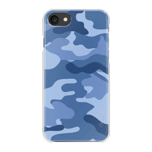 Camo light blue - iPhone 7 Case And Cover (34 CHF) ❤ liked on Polyvore featuring accessories, tech accessories, phone cases, iphone case, light blue iphone case, iphone cases, iphone cover case, apple iphone case and slim iphone case