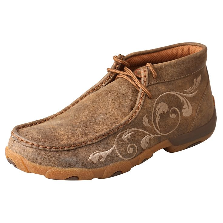 Twisted X Women's Driving Moc WDM0041 Bomber - Lazy B General Store