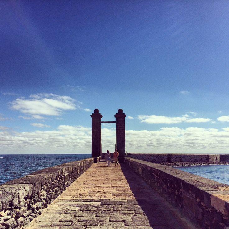 Puente de las Bolas, #Arrecife - #Lanzarote, #IslasCanarias