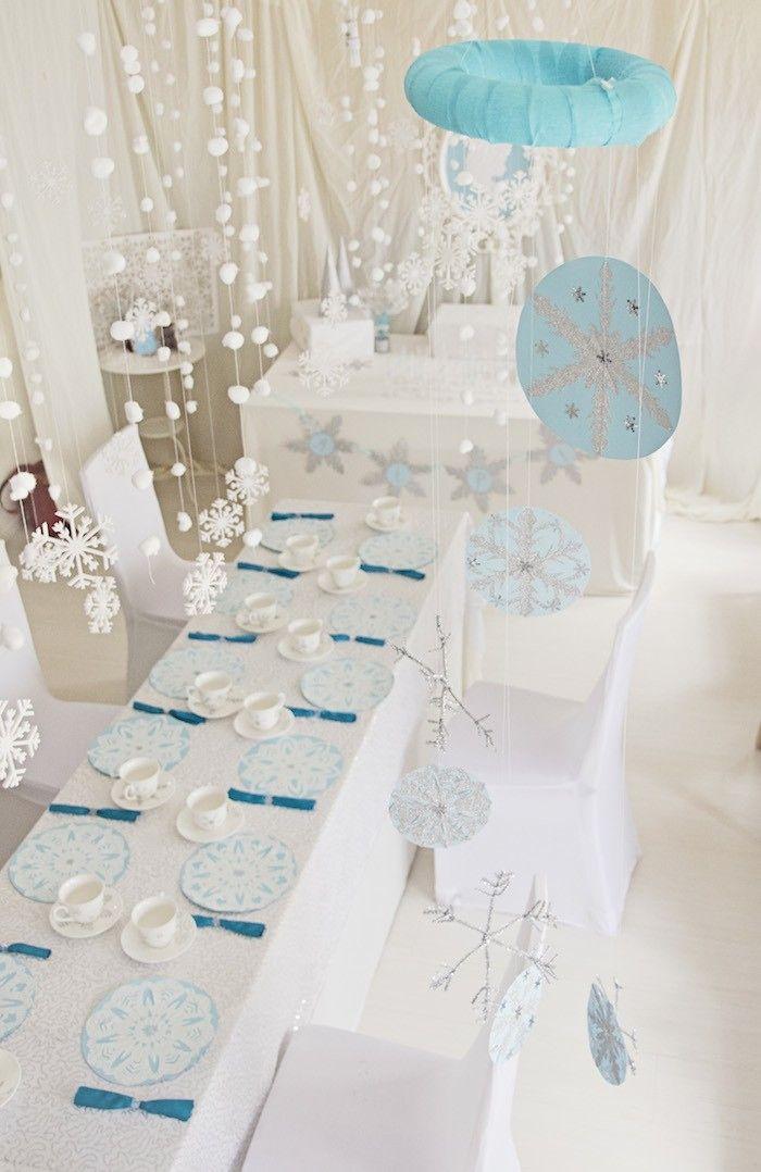 Frozen Themed Tea Birthday Party Decor Printables