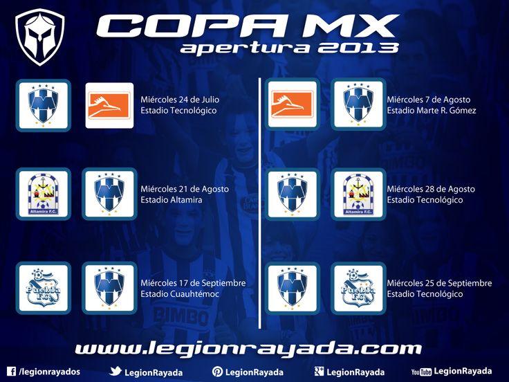 Calendario Copa MX