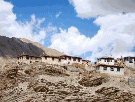 A hamlet in Spiti Valley.