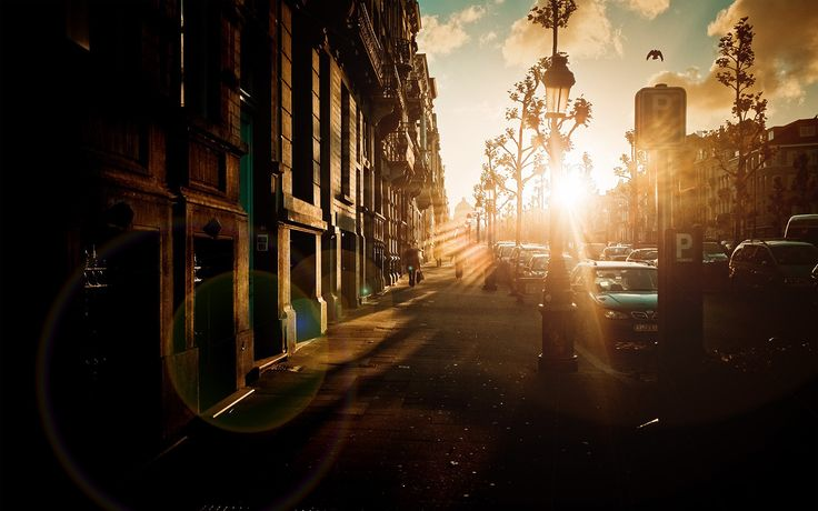 Pics For > Urban Street Backgrounds Hd | City streets ...