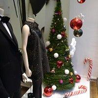 vetrina natalizia albero di natale