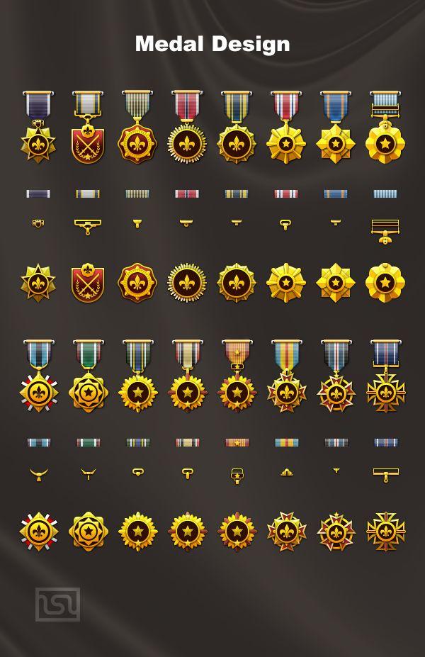 Medal Design : Medal...