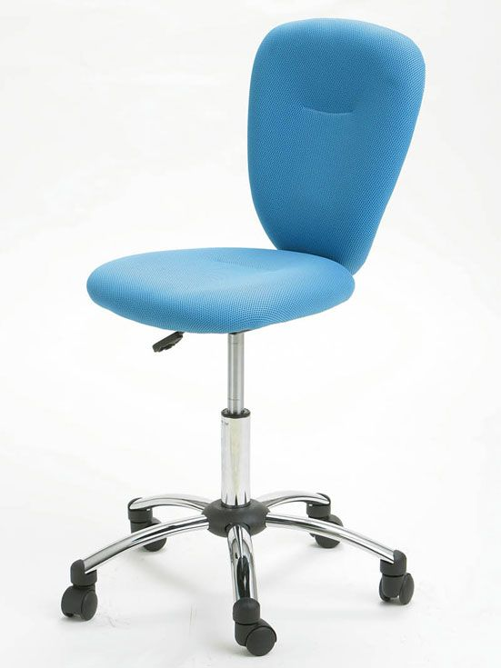 Dětská otočná židle PEZZI modrá