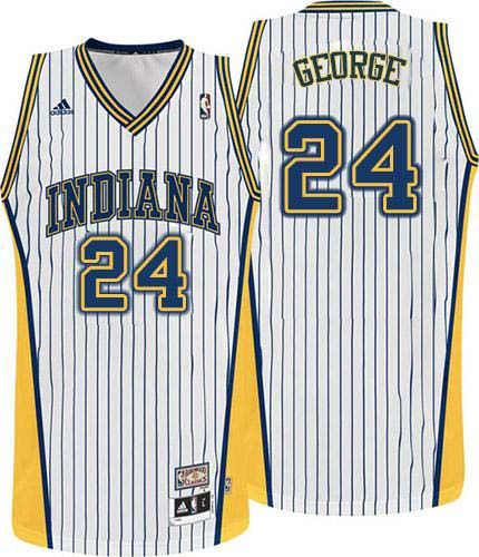 ... Paul George jersey-80% Off for Adidas Paul George Swingman Throwback  Mens Jersey - Indiana Pacers ... c14286ef1