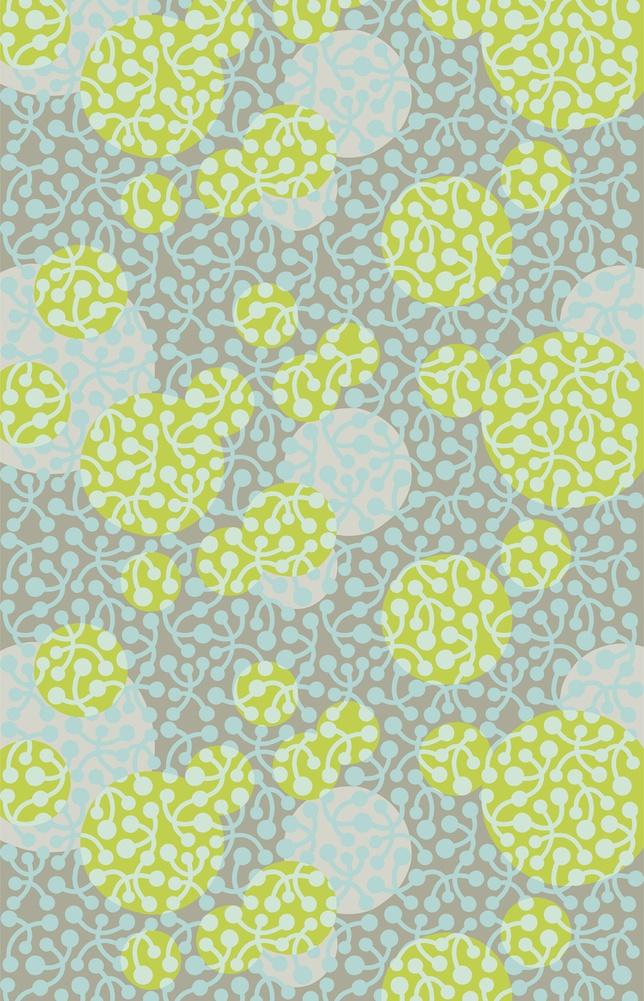 Marimekko: Designer Iiro A. Ahokas designed this Kirsikka pattern in 2007 inspired by cherries that had fallen to the ground.