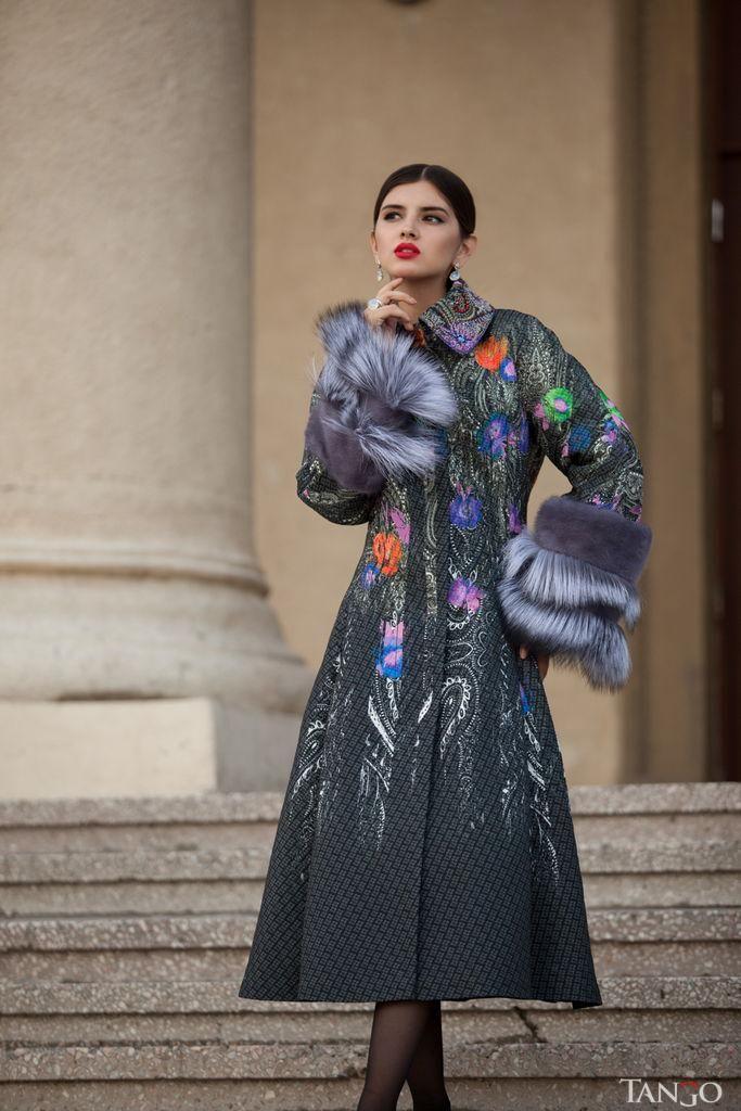 Зимнее пальто Dior на заказ по вашим размерам в Танго Мехов.