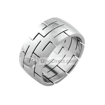 I like these titanium mens rings