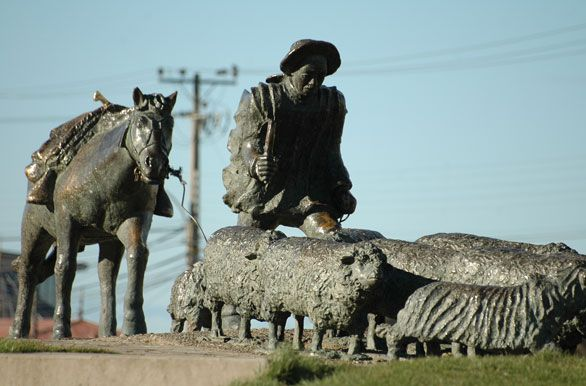 Monumento al ovejero - Punta Arenas