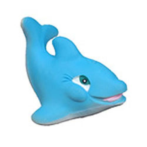Bath Toy Buddy Dophin: Large Dolphin Natural Rubber Bath Toy