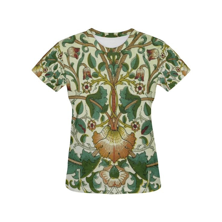William Morris Floral Vine Wallpaper All Over Print T