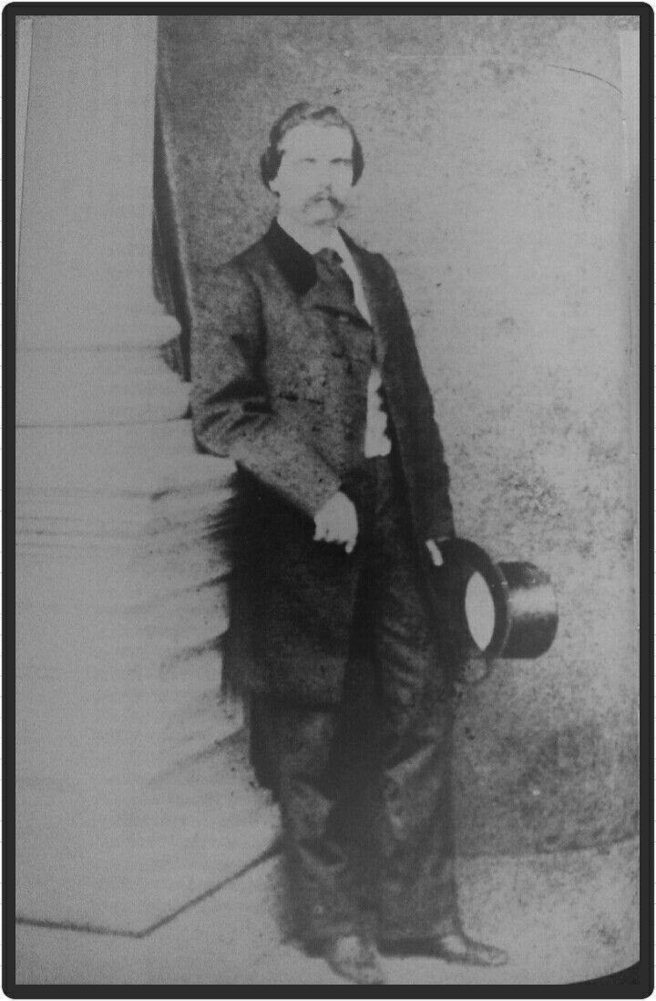 Manuel Antônio de Almeida, autor de Memórias de um Sargento de Milícias (c.1855)