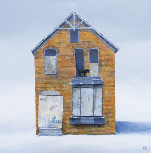 Bricks | Pintura de ROSA ALAMO | Flecha