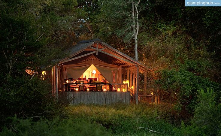 Safari Tent Camping in South Africa | Luxury Camping in South Africa