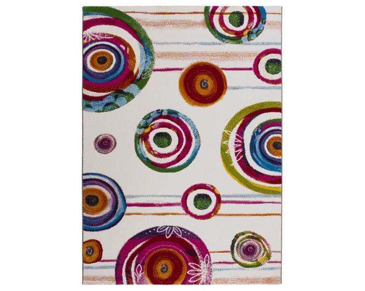 BELIS 21055 ALFOMBRA MODERNA Alfombra de diseño moderno con formas abstractas coloreadas con una combinación de colores vivos, intensos, ideales para dar luz y calor a cualquier ambiente. La Belis es una colección de alfombras bien acabadas y fabricadas con fibras sintéticas de calidad y fáciles de limpiar. Medidas disponibles: [...]