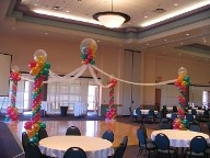 Fantasy Cloud Balloon Dance Floor - Balloons inside Balloon