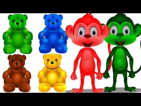 nonton video learn colors with toys