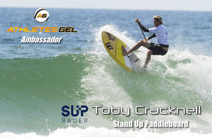 Athletes Gel Ambassador,Toby Cracknell is a rising star in Stand Up Paddle Board and is currently ranked in the top 16. Racing for Team: Infinity, he has had some great finishes in 2016 which include: 1st @ Noosa Festival of Surfing – beach race 2nd @ Jamie Mitchell Survivor Race 4th @ The Japan Cup – beach race 5th @ Molokai-2-Oahu