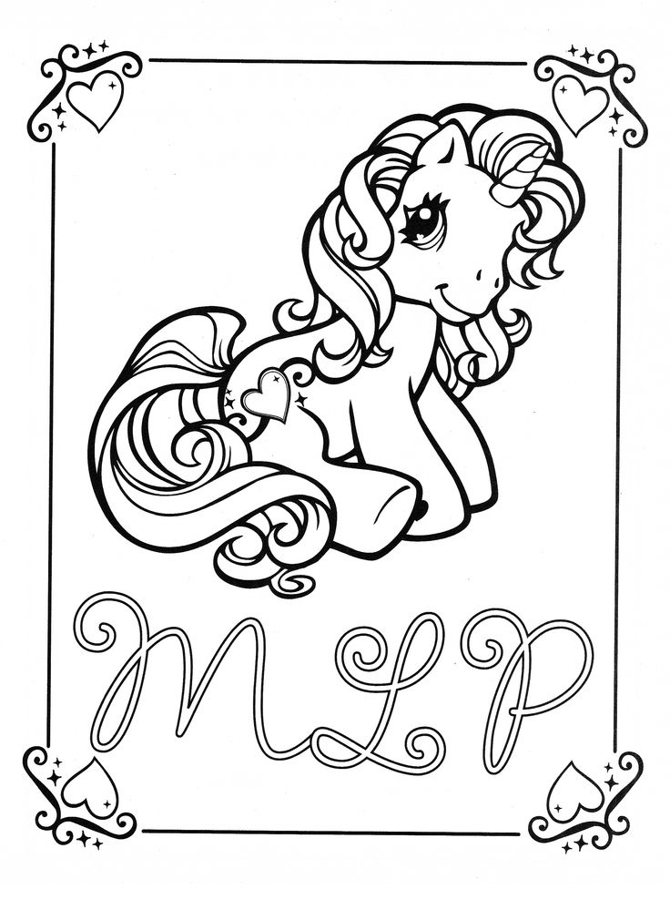 My Little Pony G3 Coloring Pages : My little pony sweetie belle pages coloring