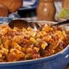 Hillbilly Pasta Bake | mrfood.com | Get ready for a good ol' country casserole that'll fill the hungriest of bellies. Our Hillbilly Pasta Bake is a cinch to make and won't break the bank!