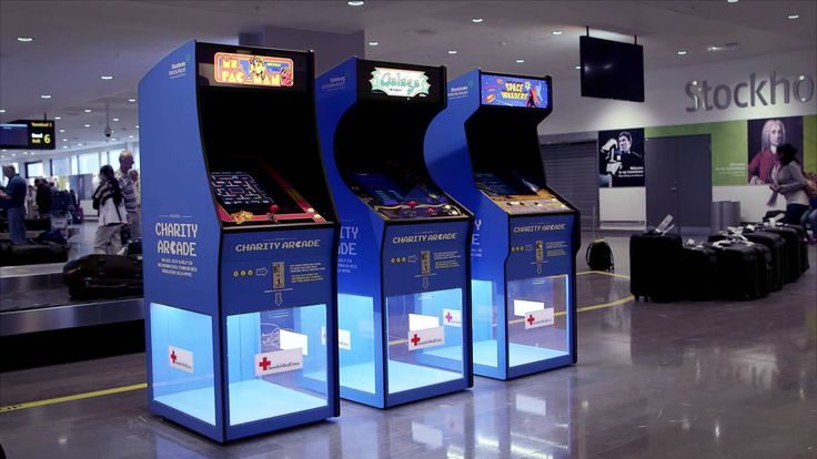Charity Arcade - Swedish Airports