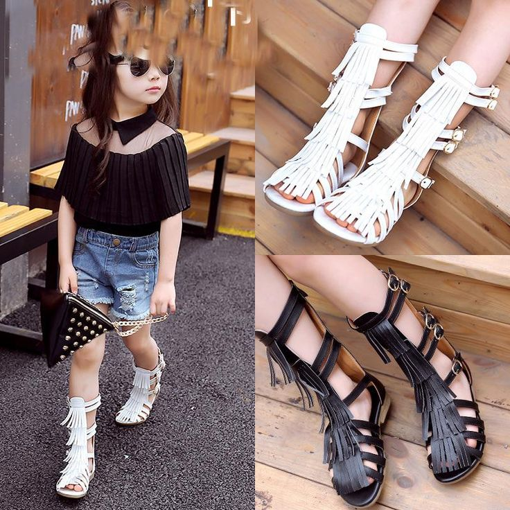 Find More Sneakers Information about 2016 Summer Sweet Kids Girls Tassels Roma Shoes Knitted Calceus Hollow Out Dance Party Shoes Black and White Fashion Shoes,High Quality shoe ads,China shoe rack shoe shop Suppliers, Cheap shoes d from Everweekend Children Clothes Co.,Ltd on Aliexpress.com