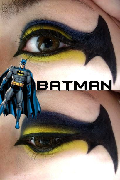 Batman Makeup by ~Steffmiesterx13 on deviantART