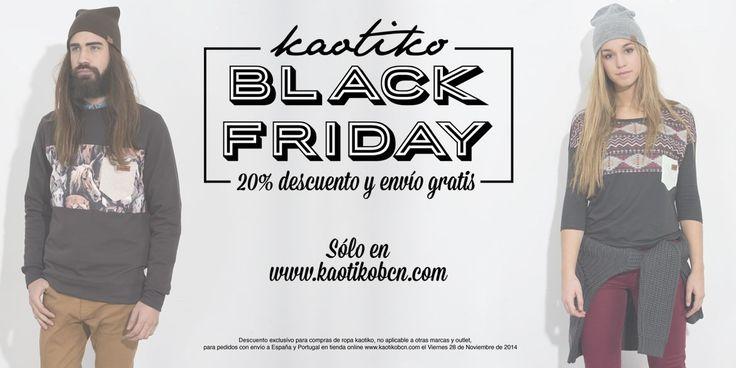 BlackFiday en Kaotiko Streetwear!
