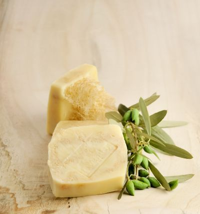Olive Oil Soap With Natural Lufa