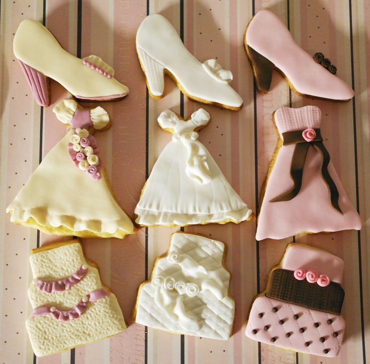 Cake Design N 4: biscotti per matrimonio