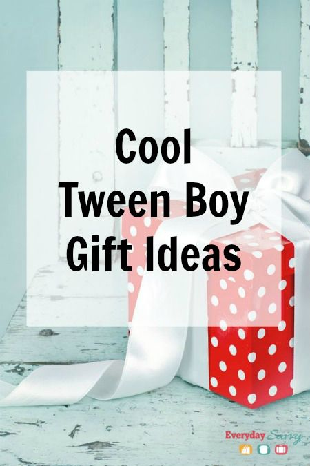 Cool Tween Boy Gift Ideas - It can be really challenging to find great gift ideas for tween boys, but if you look outside the box, you can sometimes find something fun and unique.
