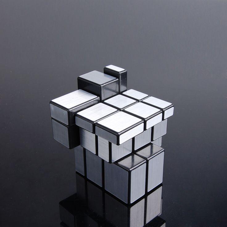 Huiyuan Speed Cube http://www.eachbyte.com/huiyuan-hy-silver-mirror-3x3-speed-cube-black.html