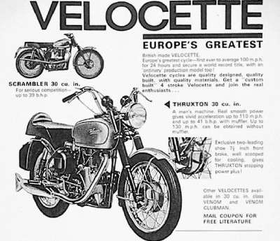 36 best velocette motorcycle images on pinterest antique bicycles 1961 velocette venom asfbconference2016 Choice Image