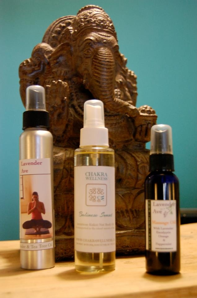 A selection of Lavender Avenue Products available at Chakra Wellness  708 West 16th Avenue  Vancouver, British Columbia V6S 1C8  (604) 442-9290  info@chakrawellness.ca  http://www.chakrawellness.ca