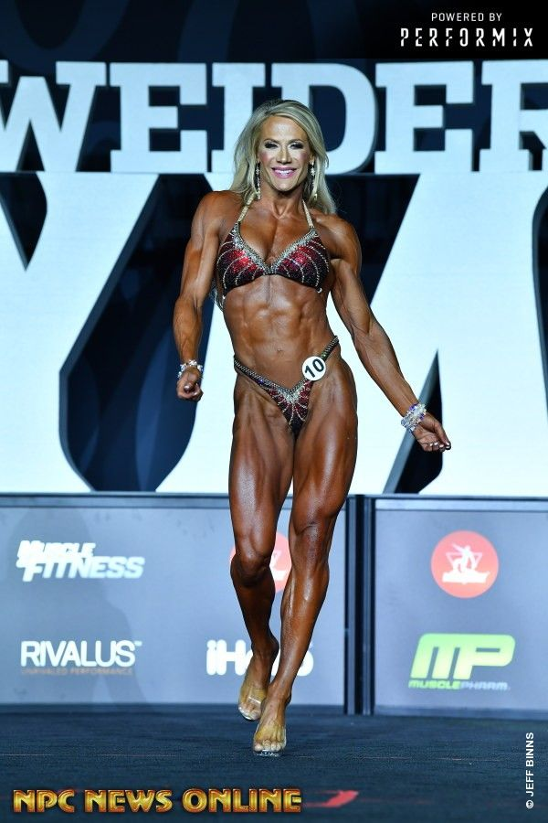 Whitney Jones 2018 Mr Olympia With Images Muscle Girls Mr