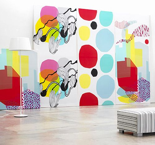 new marimekko spring collection 2008 | THE STYLE FILES #textiles #pattern #prints