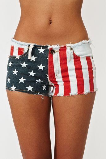 too cute!: Fashion, Style, Clothes, 4Th Of July, July 4Th, Cutoff Shorts, America Cutoff, American Flag Shorts