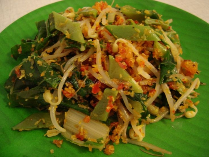 Tasty Indonesian Food - Urap-urap Sayur