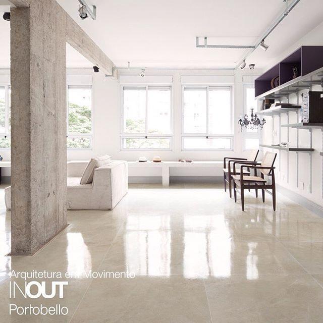 9 melhores imagens de piso porcelanato sala e cozinha no - Portobello decoracion ...
