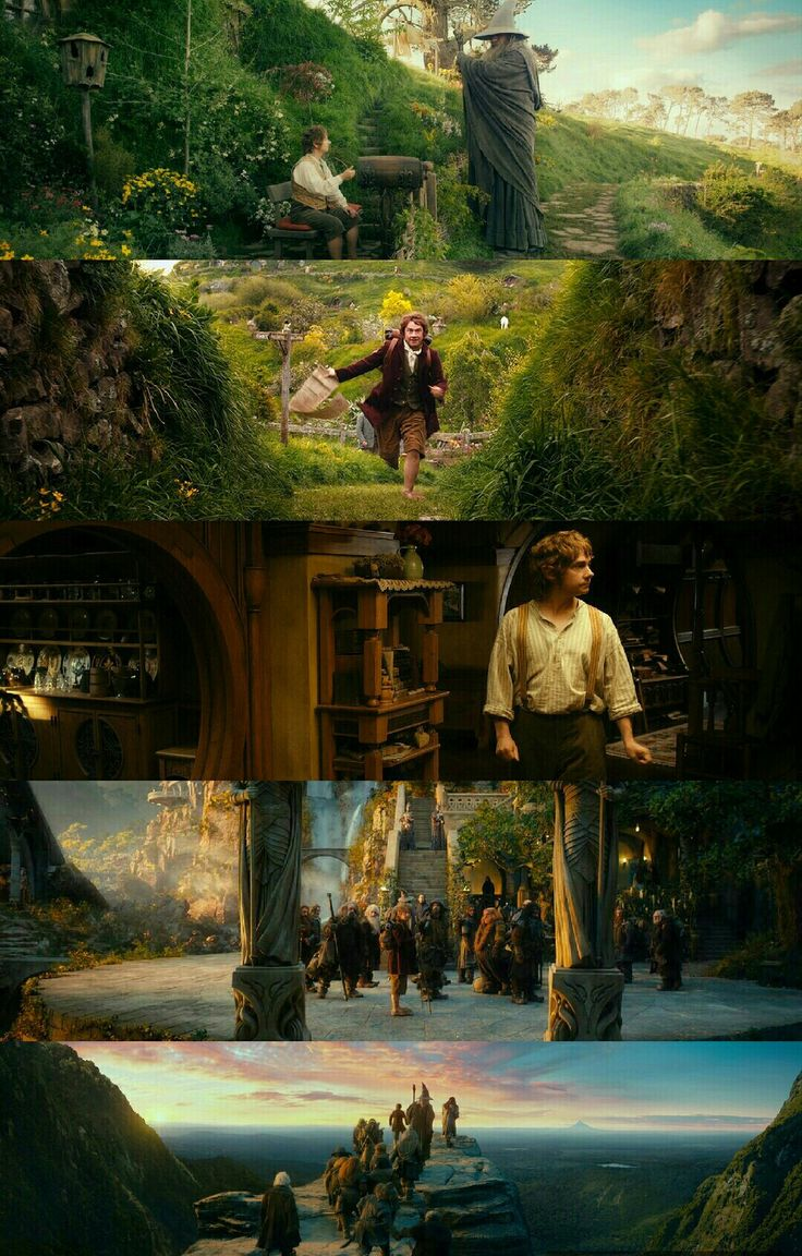 The Hobbit: An Unexpected Journey (2012) Director: Peter Jackson. Photography: Andrew Lesnie.