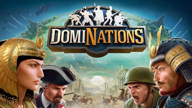 DomiNations is a 2015 freemium mobile MMO strategy video game developed and  published by Nexon and Big Huge Games.  Dominations is a massively multiplayer online game. Players build a base  with defensive, economic, workshop, and unit training buildings along with  several wonders and a Town Centre. After training appropriate troops,  players search for suitable opponents to attack and gain loots and  medals.Players can choose to play as any of the 8 different nations -  Korean, British…