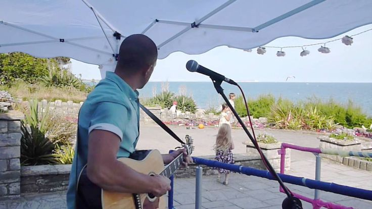 """Live Wedding Music by the sea! """"Save Tonight"""" acoustic cover"""