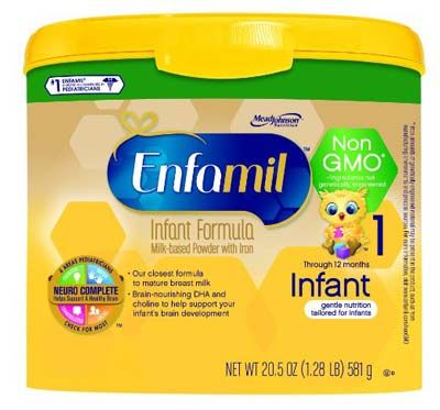 7. Infant Non-GMO Baby Formula from Enfamil