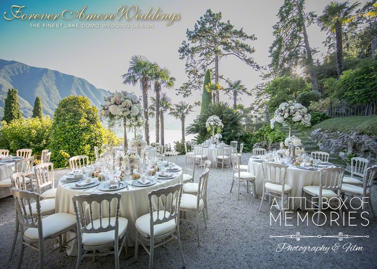 Beautiful summer reception at Villa Balbianello, Terrace Segrè. Picture by Steve Tarling © Event by ForeverAmoreWeddings #foreveramoreweddings #villabalbianelloweddings