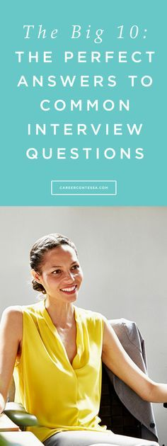 We're covering the trickier questions you might encounter, and they'll require thinking about the whole interview a little differently. | CareerContessa.com