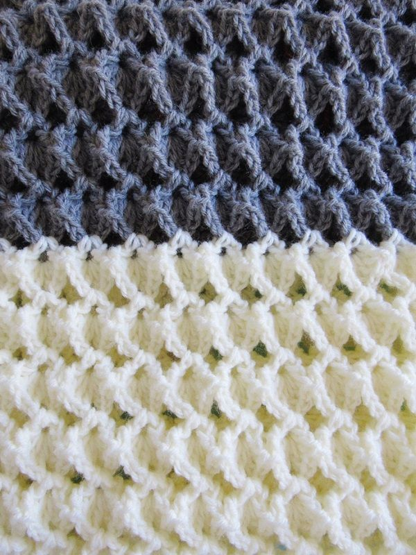 Free Crochet Afghan Pattern With A Beautiful Texture Crochet