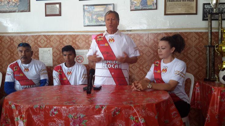 Club Monarcas busca apoyo para formar escuela de fútbol en la capital | El Puntero